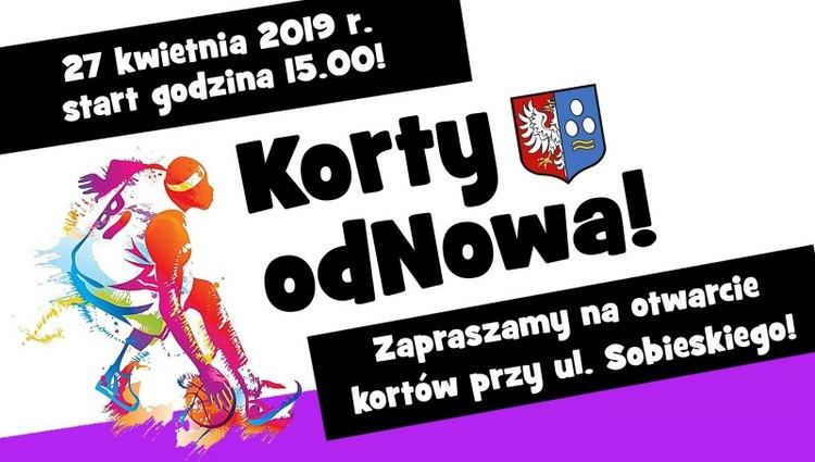 Korty odNOWA: Wielkie otwarcie już 27 kwietnia! – Oficjalny serwis internetowy Gminy Kęty